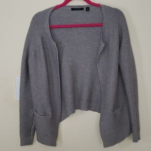 Cyrus Grey Knit Sweater